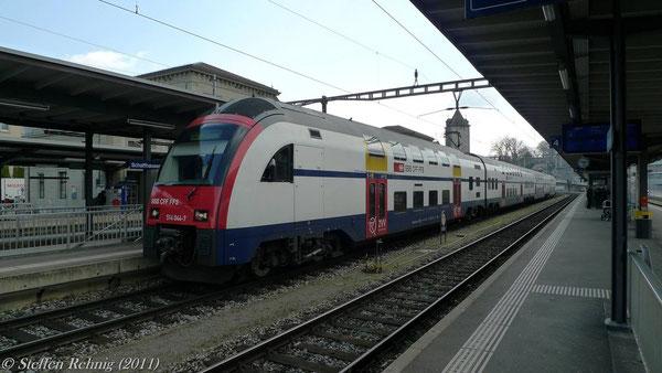 Grenzbahnhof Schaffhausen (März 2011)