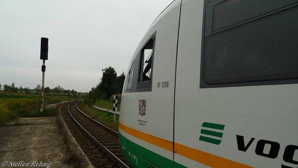 Halt am Bahnsteig Raitzhain