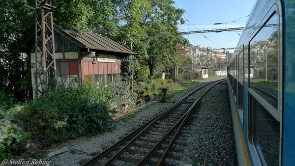 Stillgelegt: Stellwerk Praha - Vyšehrad