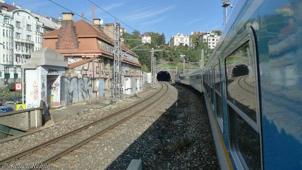 Südtunnel vor Praha hln.