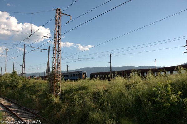 Gleisvorfeld vom Depot Rajlovac