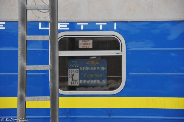 """Schlafwagen Zug 29/30 """"KASCHTAN"""" (Grunewald 2011)"""