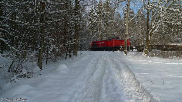Zwischen Lonnershof und Frensdorf (28. Dezember 2010)