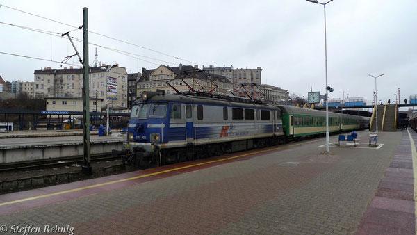 EU 07 - 305 in Szczecin Główny (12. März 2012)