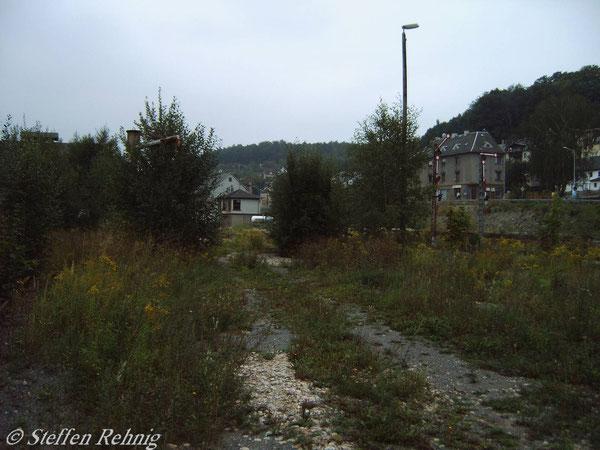 Blick in Richtung Stellwerk B 2 (September 2005)