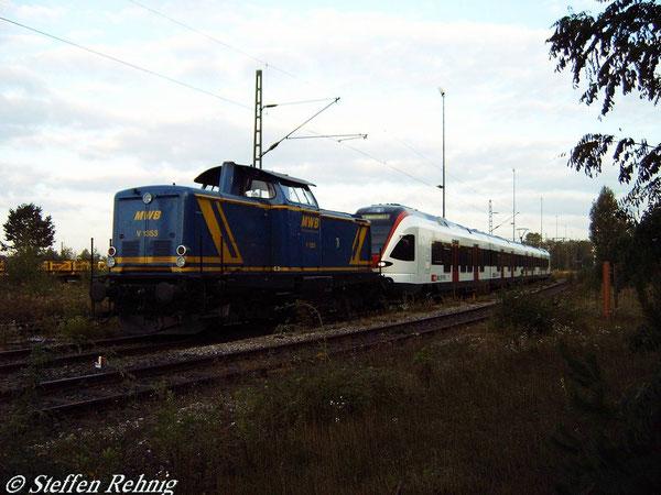 MWB 1353 (ex. DB V 100 2338/213 338-7) in Nürnberg Rbf (17. September 2004)