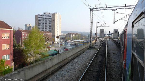 Ausfahrt aus Skopje