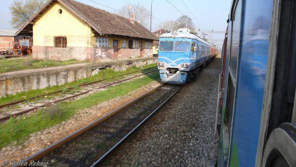 MZ Triebwagenzug sowjetischer Bauart