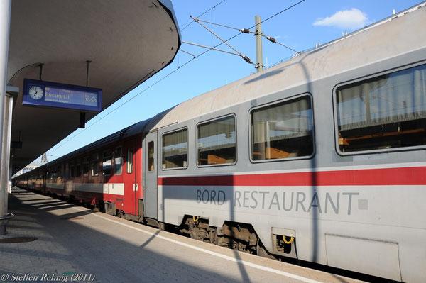 """D 347 """"DACIA"""" in Wien Westbahnhof (16. Juli 2011)"""