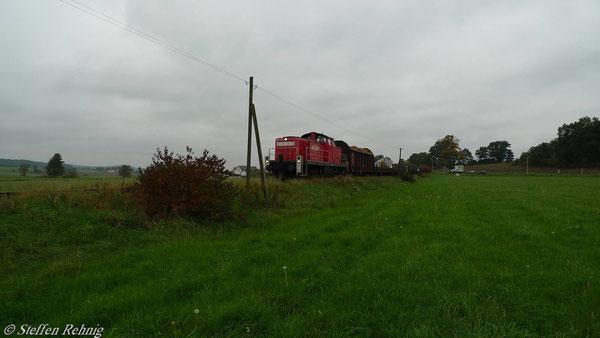 hinter Volkersdorf (7. Oktober 2010)