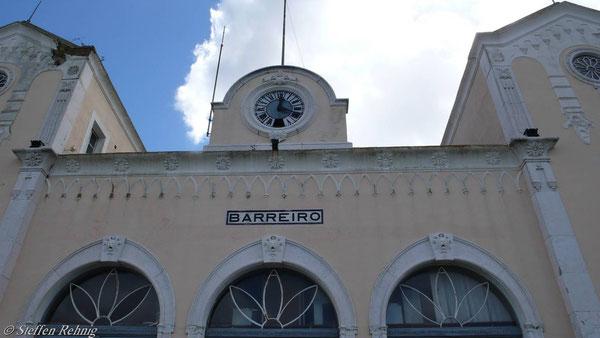 Das alte Empfangsgebäude