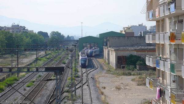 """.... und weiteres neues, abgestelltes, noch unbenutztes """"EU-Zeugs"""" (Thessaloniki 10. Juni 2007)"""