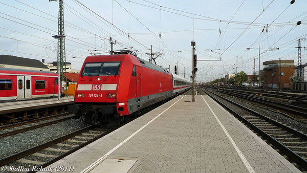 ICE 914 München Hbf - Berlin Gesundbrunnen