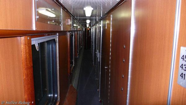 Im CP U-Hansa - Schlafwagen
