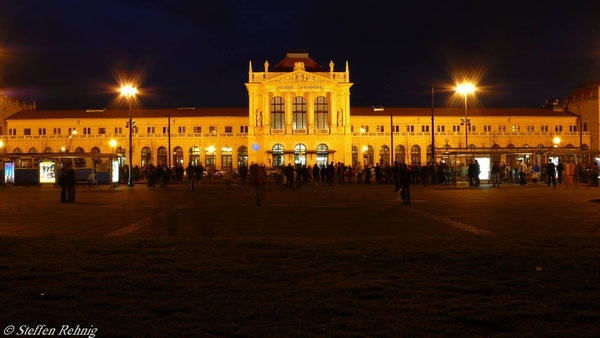 Empfangsgebäude Zagreb
