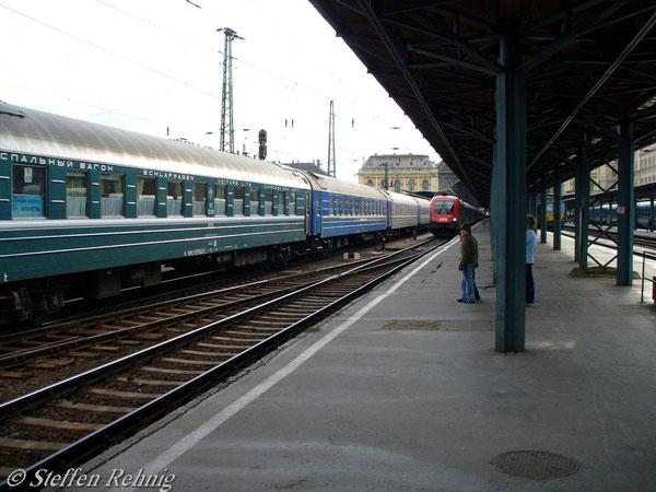 """D 16 """"TISZA"""" Kurswagen Beograd - Moskva (Juni 2006)"""