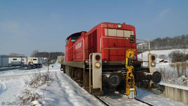Am Streckenende (Dezember 2010)