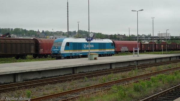 223 068 beim Umfahren des Zuges in Hof Hbf (Mai 2010)