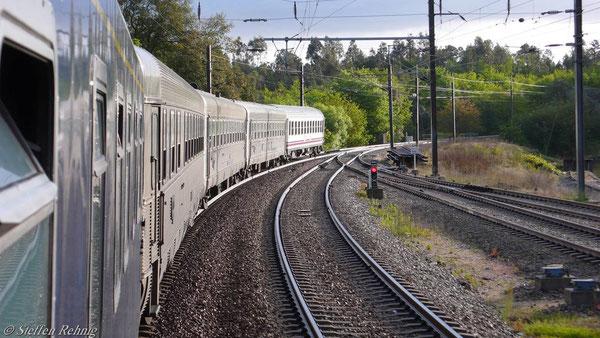 ..... Speisewagen, 2x 2.Kl. Sitzwagen, RENFE Liegewagen