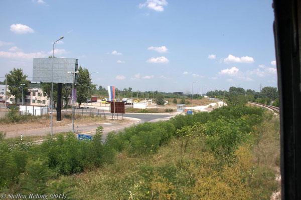Grenzübergang Šamac