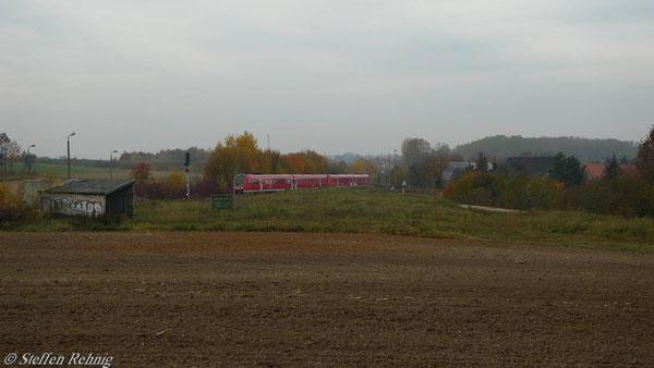 """Endlich kommt sie aus Richtung Gera - die """"Rote Pest"""" (November 2010)"""