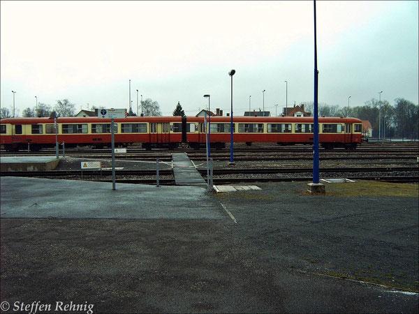 SNCF X 4500 Triebwagen in Haguenau (26. März 2005)
