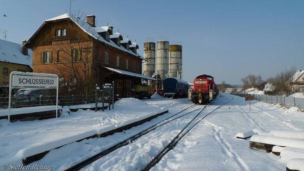 Abfahrbereit nach Bamberg (2. Dezember 2010)