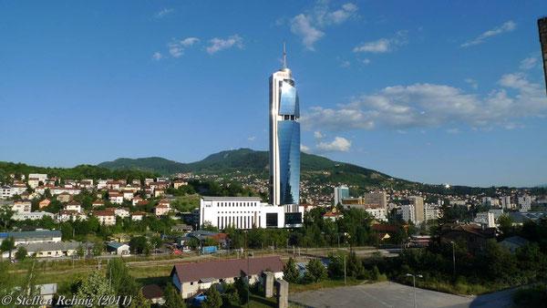 Sarajevo, die schöne Stadt mit schwerer Vergangenheit und ihren sehr freundlichen Menschen ....