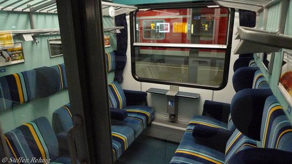Modernisierter ex. Bundesbahn Bm - Wagen (2. Klasse)