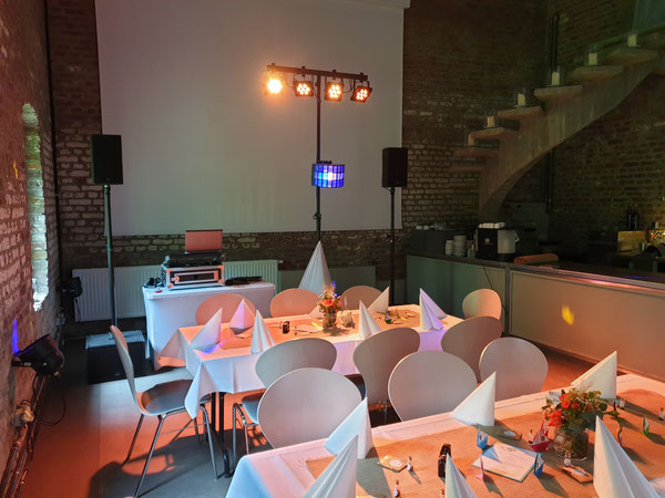 Discjockey für Hochzeit und Event - Gut Hebscheid - Aachen