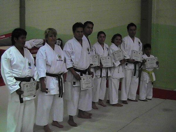 Bu Shin Kan Seminario Julio 2010 Dojo Ishikar Presente