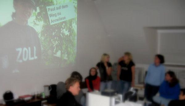 Präsentation der Fotostory