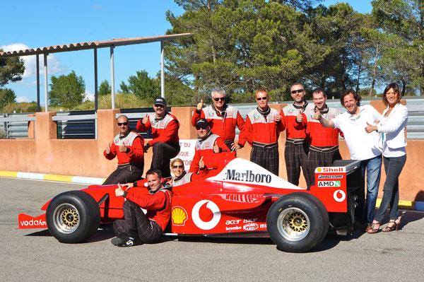 Formel 1 selber fahren