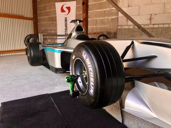 Formule 1 bandelwissel huren Simulator