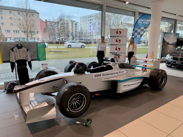 Formel 1 Motorsport Reifenwechsel Simulator mieten