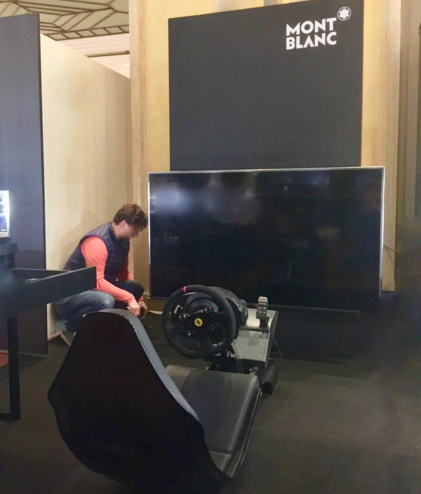 Formel E Fahrsimulator mieten