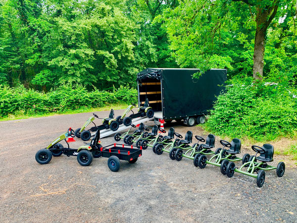 Kettcar Outdoor Tour im Wald
