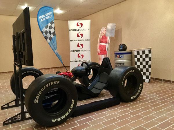 Formel 1 Rennsimulatoren mieten