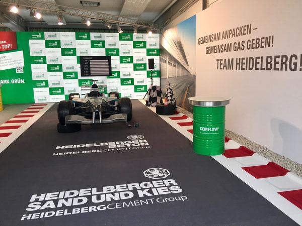 Formel 1 Showcar mieten / Rennwagen mit Straßenzulassung mieten
