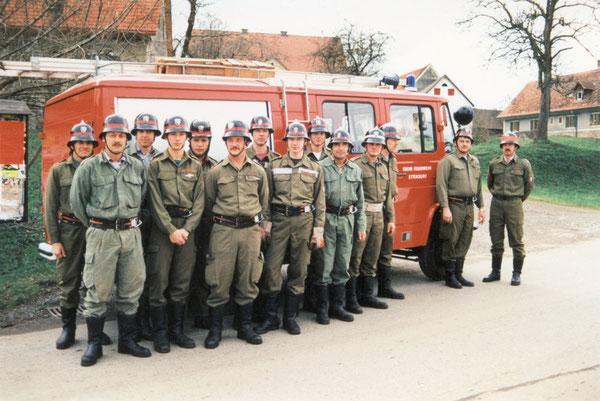 LFB mit Mannschaft 1995