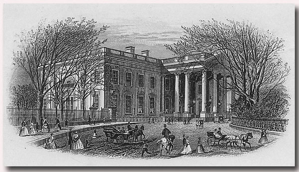 Early view of the White House