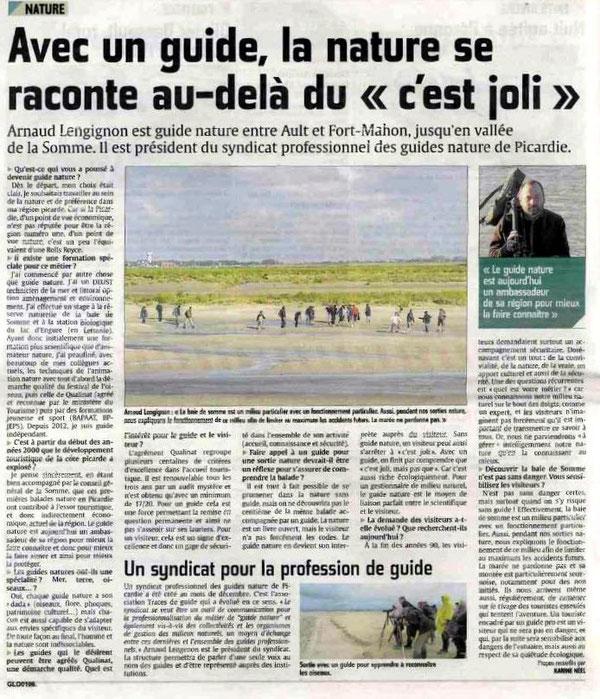Courrier Picard Janvier 2015