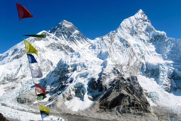 Sagarmatha (schwarzer Gipfel)        Quelle Bild: www.fernost-entdecken.de