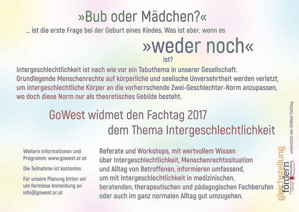 Fachtagung Inter* GoWest 2017