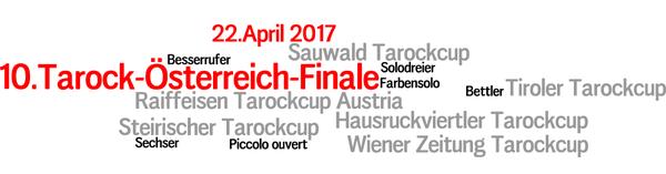 Wordle zum 10. Tarock-österreich-Finale