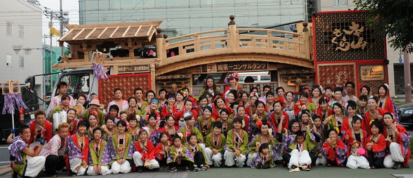 本山さくらチームと地方車(2013)
