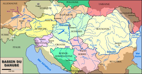 Le bassin du Danube