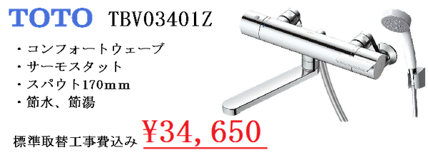 TOTO TBV03401Z