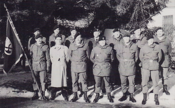 Offiziersbesetzung vom April 1992