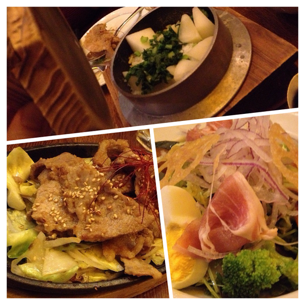 京都伊右衛門サロン夕食